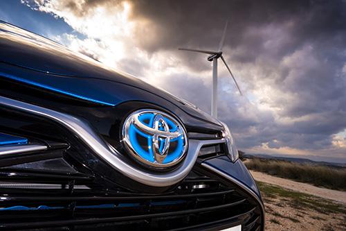 En düşük emisyon Toyota'da
