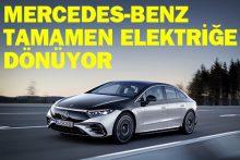 Mercedes gelecekte elektrikli